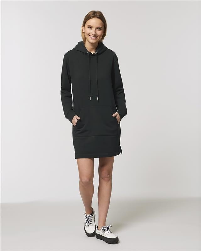 hoodie femme debout personnalisé