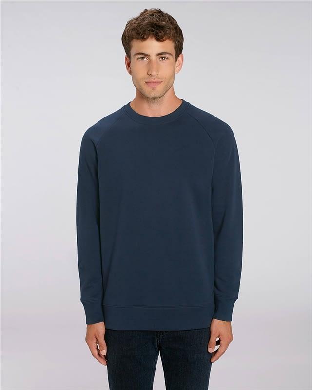 sweat shirt bleu personnalisé
